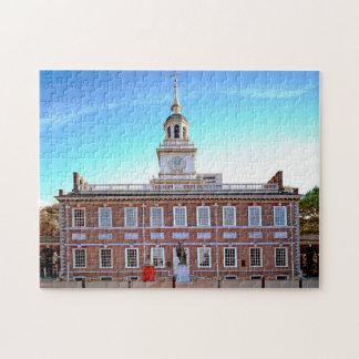 Independence Hall Philadelphia. Jigsaw Puzzle
