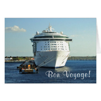 Independence in Cozumel Custom Bon Voyage Card