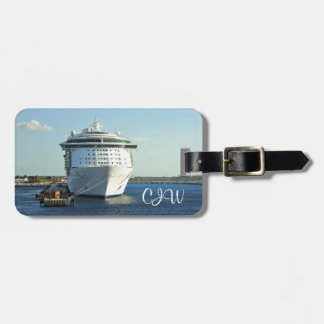 Independence in Cozumel Personalized Luggage Tag