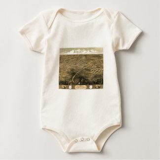 Independence Misssouri 1868 Baby Bodysuit