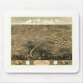 Independence Misssouri 1868 Mouse Pad