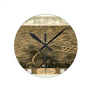 Independence Misssouri 1868 Round Clock