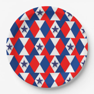 Independence Paper Plate
