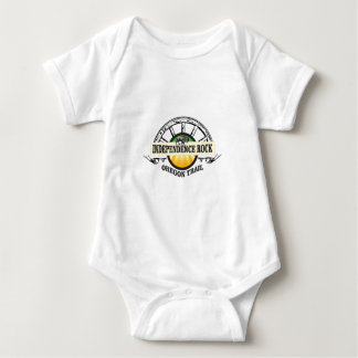 Independence rock seal baby bodysuit