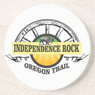 Independence rock seal coaster