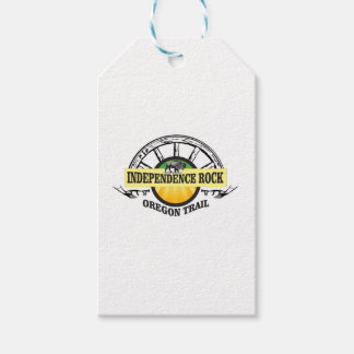Independence rock seal gift tags