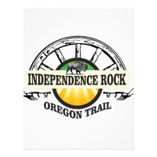Independence rock seal letterhead