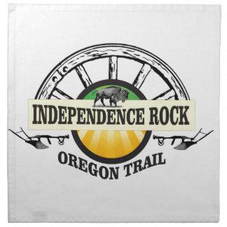 Independence rock seal napkin