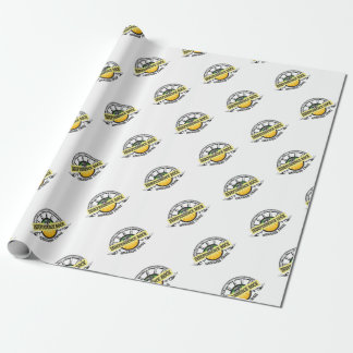 Independence rock seal wrapping paper