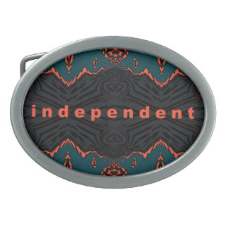 Independent and Proud! Belt Buckle