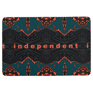 Independent and Proud! Floor Mat