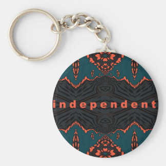 Independent and Proud! Keychain