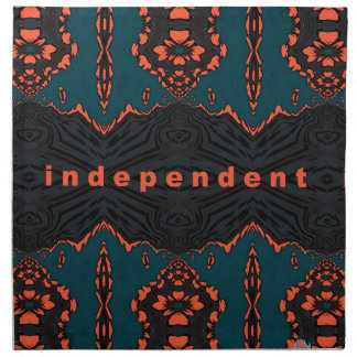 Independent and proud napkin