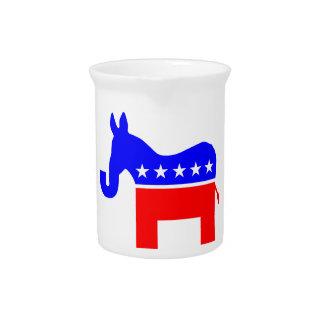 INDEPENDENT & BIPARTISAN - Donkey/Elephant Hybrid Beverage Pitcher