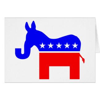 INDEPENDENT & BIPARTISAN - Donkey/Elephant Hybrid Card