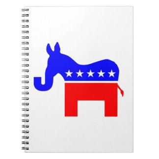 INDEPENDENT & BIPARTISAN - Donkey/Elephant Hybrid Notebooks