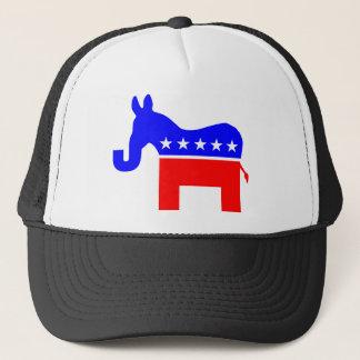 INDEPENDENT & BIPARTISAN - Donkey/Elephant Hybrid Trucker Hat