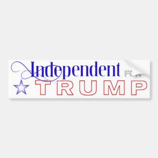 Independent for Trump Bumper Sticker