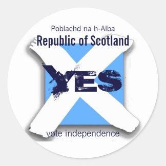 Independent Scotland Sticker