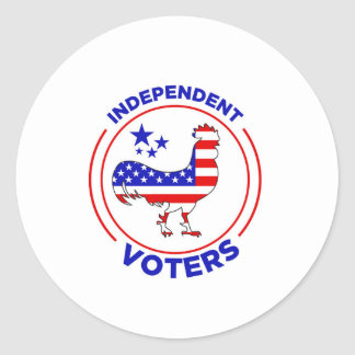 Independent Voters Stickers