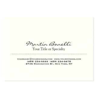 Indestructible Special Unique Professional Large Business Card