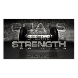 Indestructible Strength Training Business Card