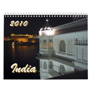india 2010 wall calendars