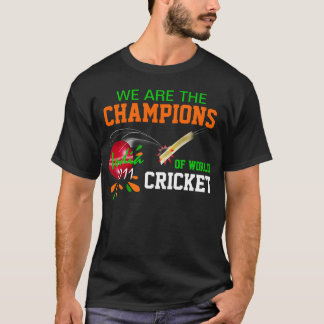 India 2011 Champs of ICC World Cup Cricket T Shirt