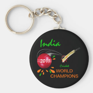 India 2011 ICC Cricket World Cup Champions Keychain