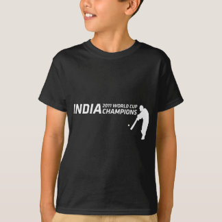 India 2011 World Cup Champions (batsman design in T-Shirt