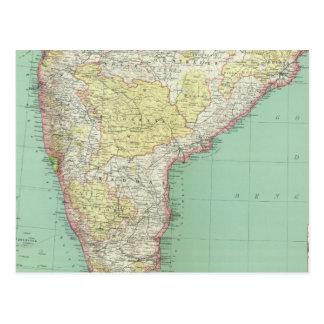 India and Sri Lanka 2 Postcard