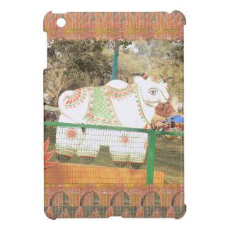 India art crafts show holy cow statue new delhi iPad mini case
