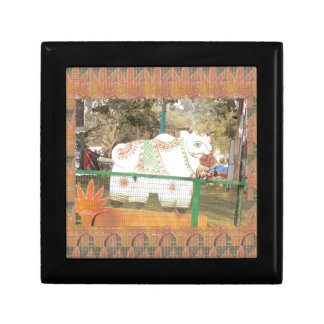 India art crafts show holy cow statue new delhi trinket boxes