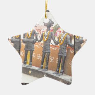 india arts rural crafts statues festival newdelhi ceramic star ornament