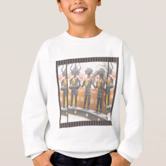 india arts rural crafts statues festival newdelhi sweatshirt