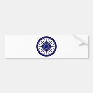 India Ashoka Chakra Bumper Sticker