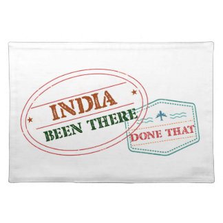 India Been There Done That Placemat