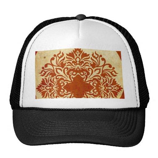 India Burnt Sunset Mesh Hats