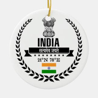 India Ceramic Ornament