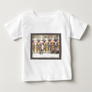 India cultural show statue of musicians artists baby T-Shirt