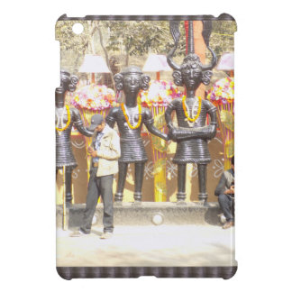 India cultural show statue of musicians artists iPad mini cover