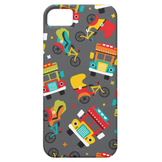 India cycle rickshaw tata truck and tuctuc case for the iPhone 5