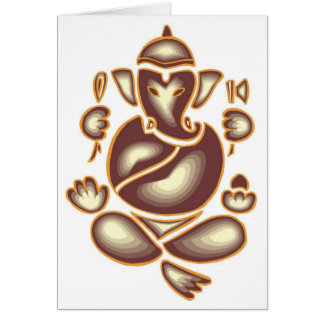 India Elephant Meditation Card-All Occasion Card