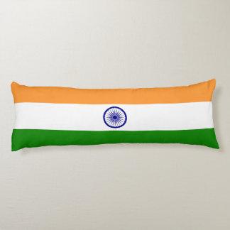 India Flag Body Pillow