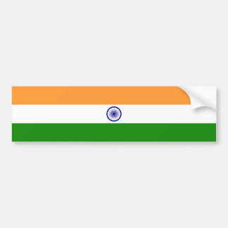 India Flag Bumper Sticker