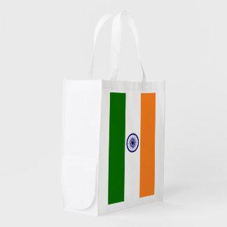 India Flag Grocery Bag