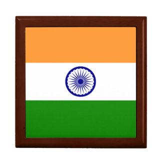 India Flag Jewelry Boxes