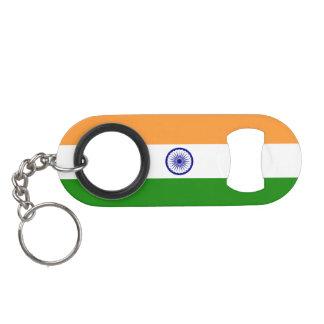 India Flag Keychain Bottle Opener