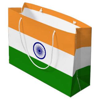 India Flag Large Gift Bag