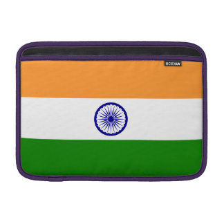 India Flag MacBook Sleeve